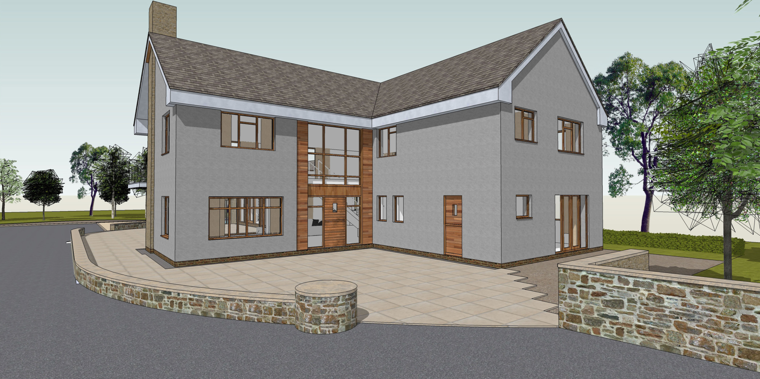 Private Residential: Brookfields Farm (built)