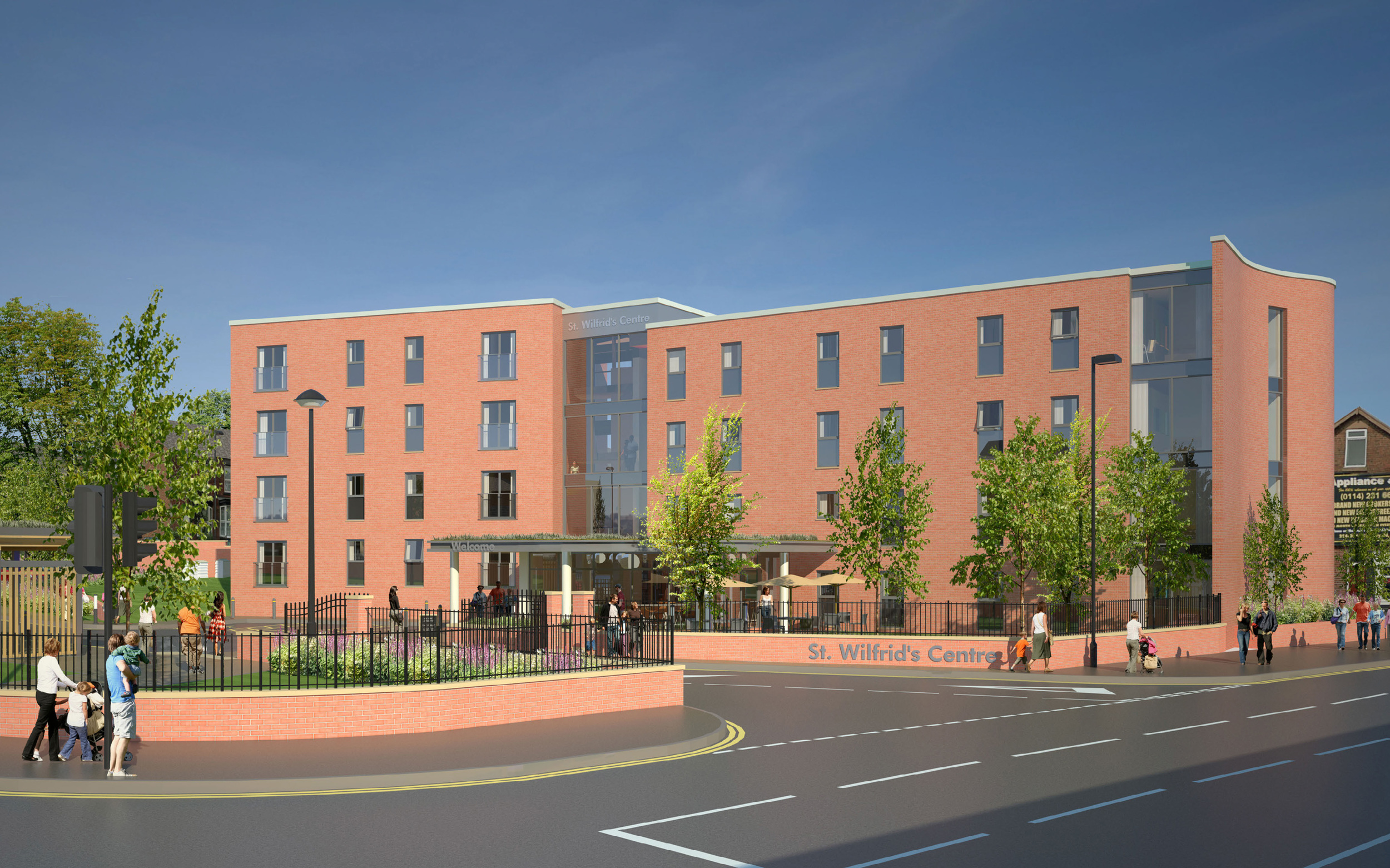 St Wilfrid's Residential: planning approved