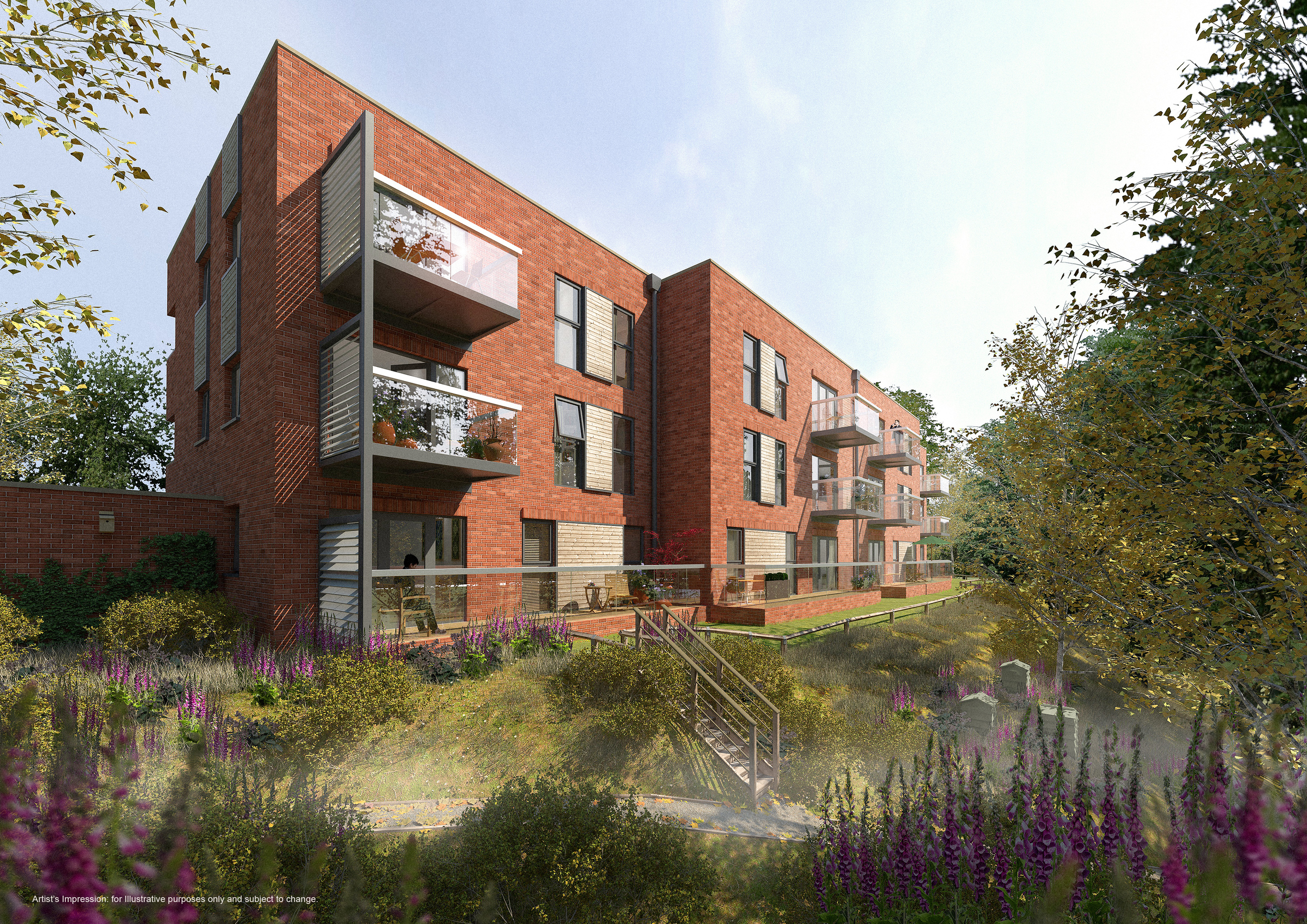 Apartments: Twentywell Lane, Sheffield: (Built)