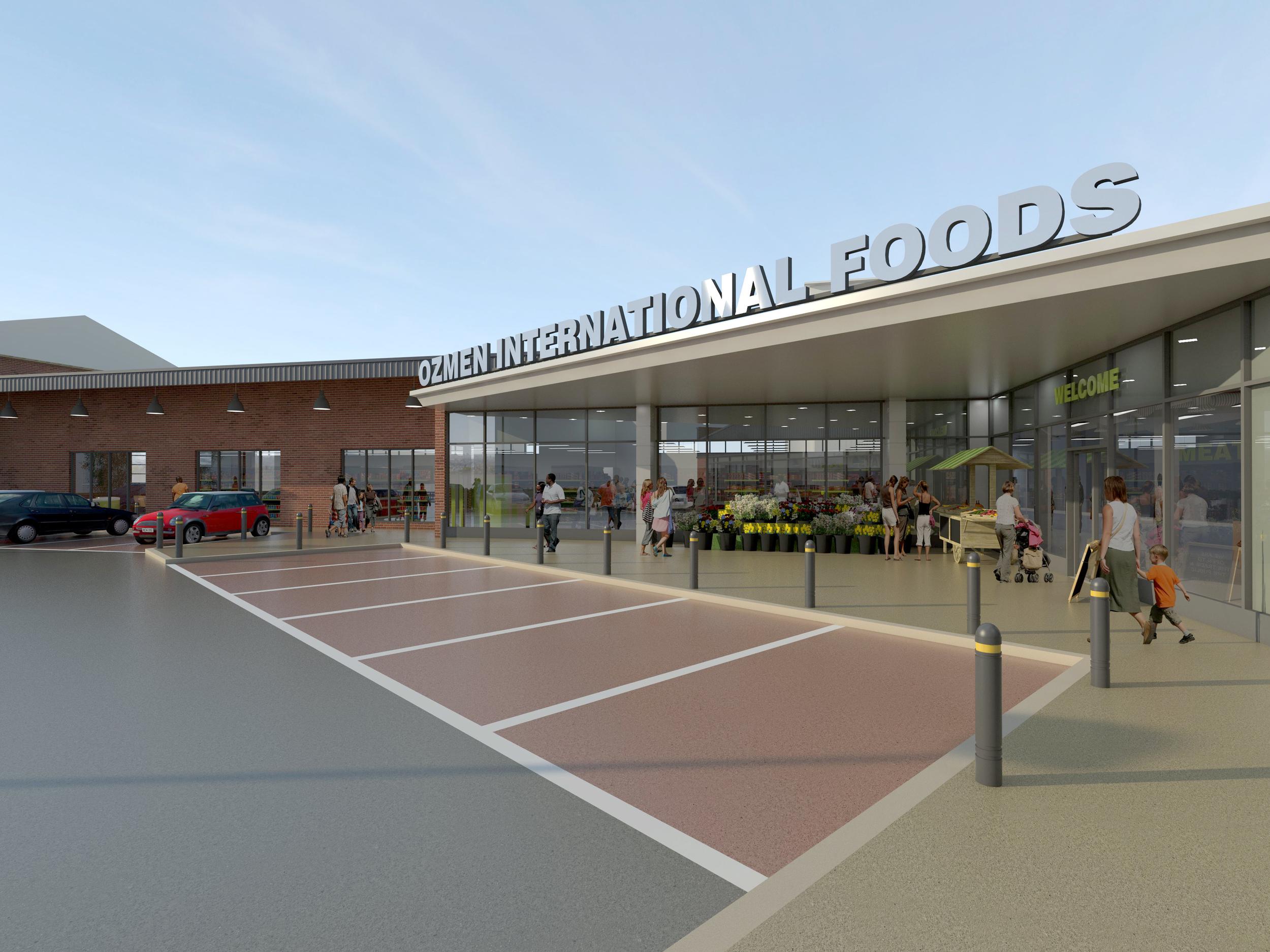 Retail: International Foods, Sheffield (built)