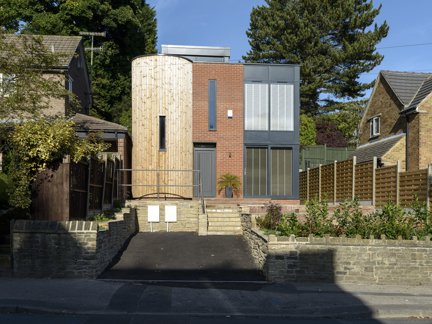 Private Residential: modern 'eco' home, Sheffield
