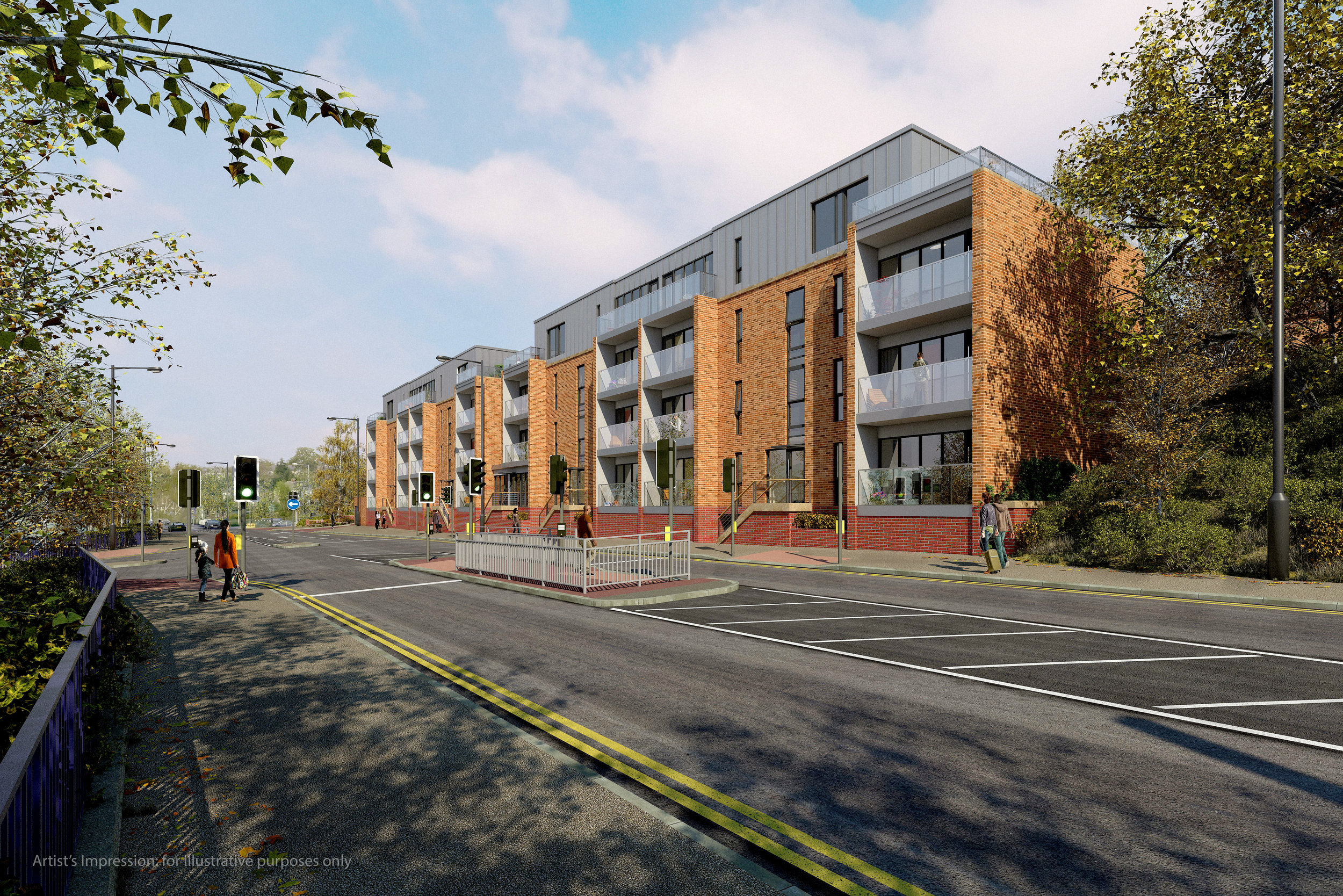 Apartments: Archer Road, Sheffield (planning approved)