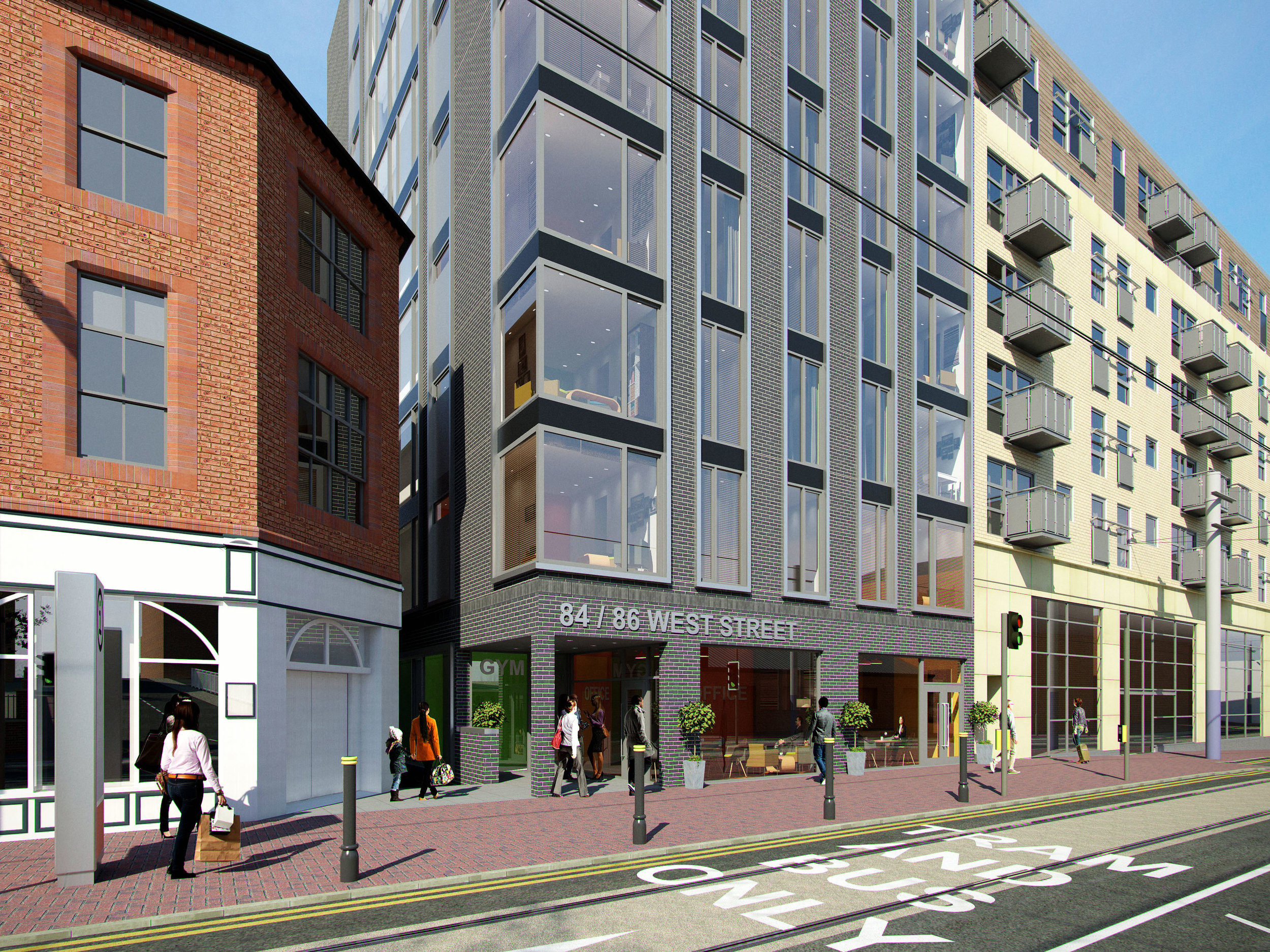 Apartments:West Street, Sheffield (planning approved)
