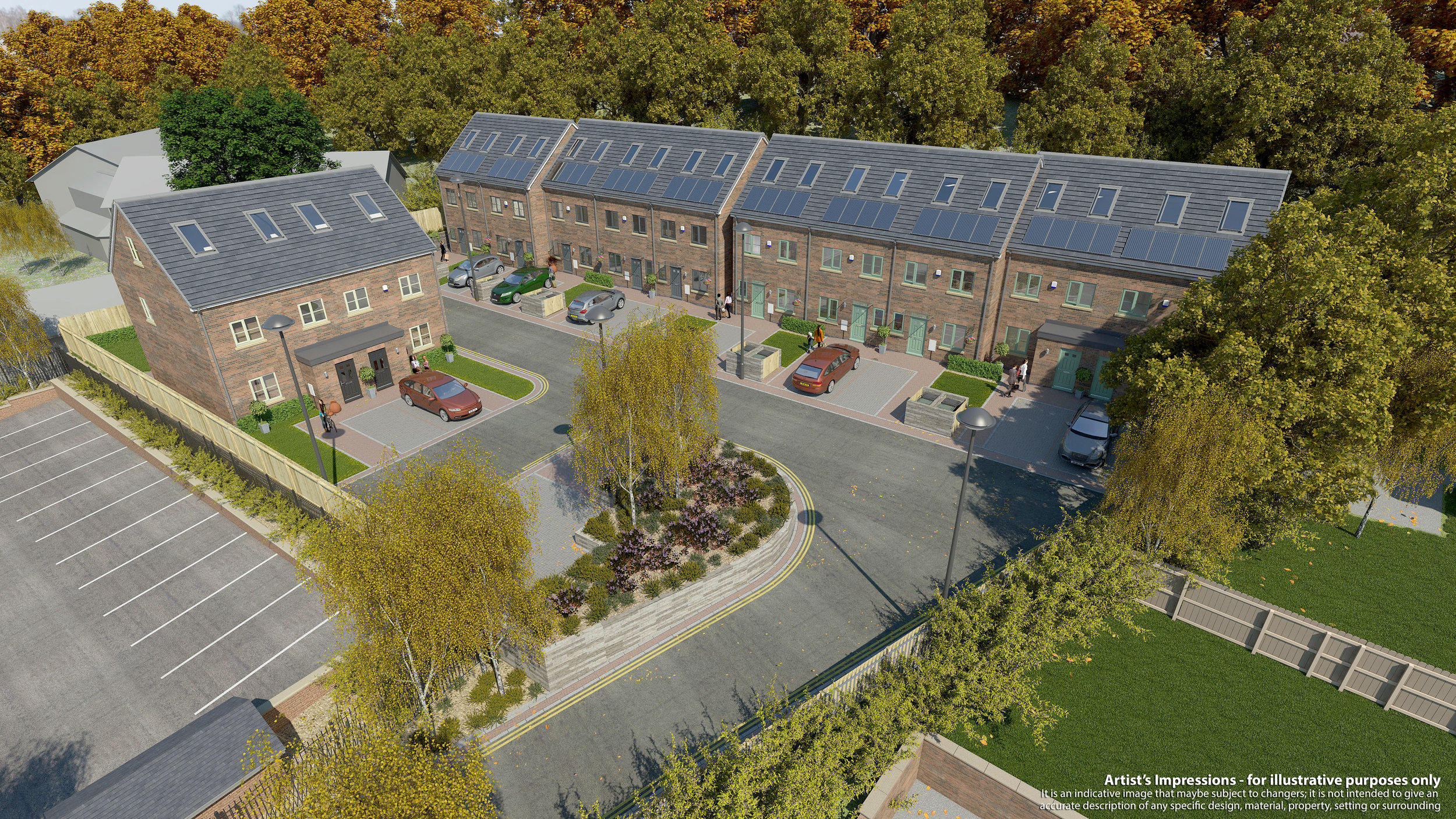 Residential:Berrystorth Close, Sheffield (Built)
