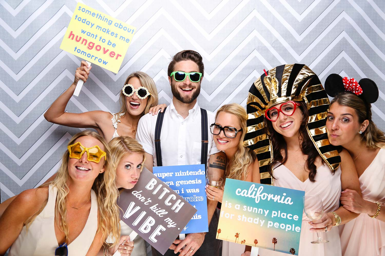 wedding photo booth in napa