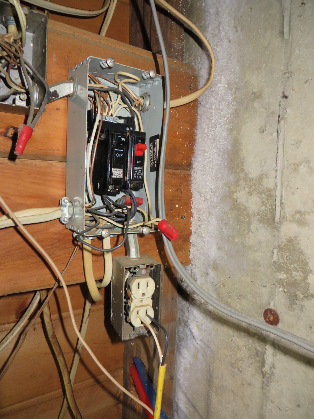 Not a preferred approach for electrical connections