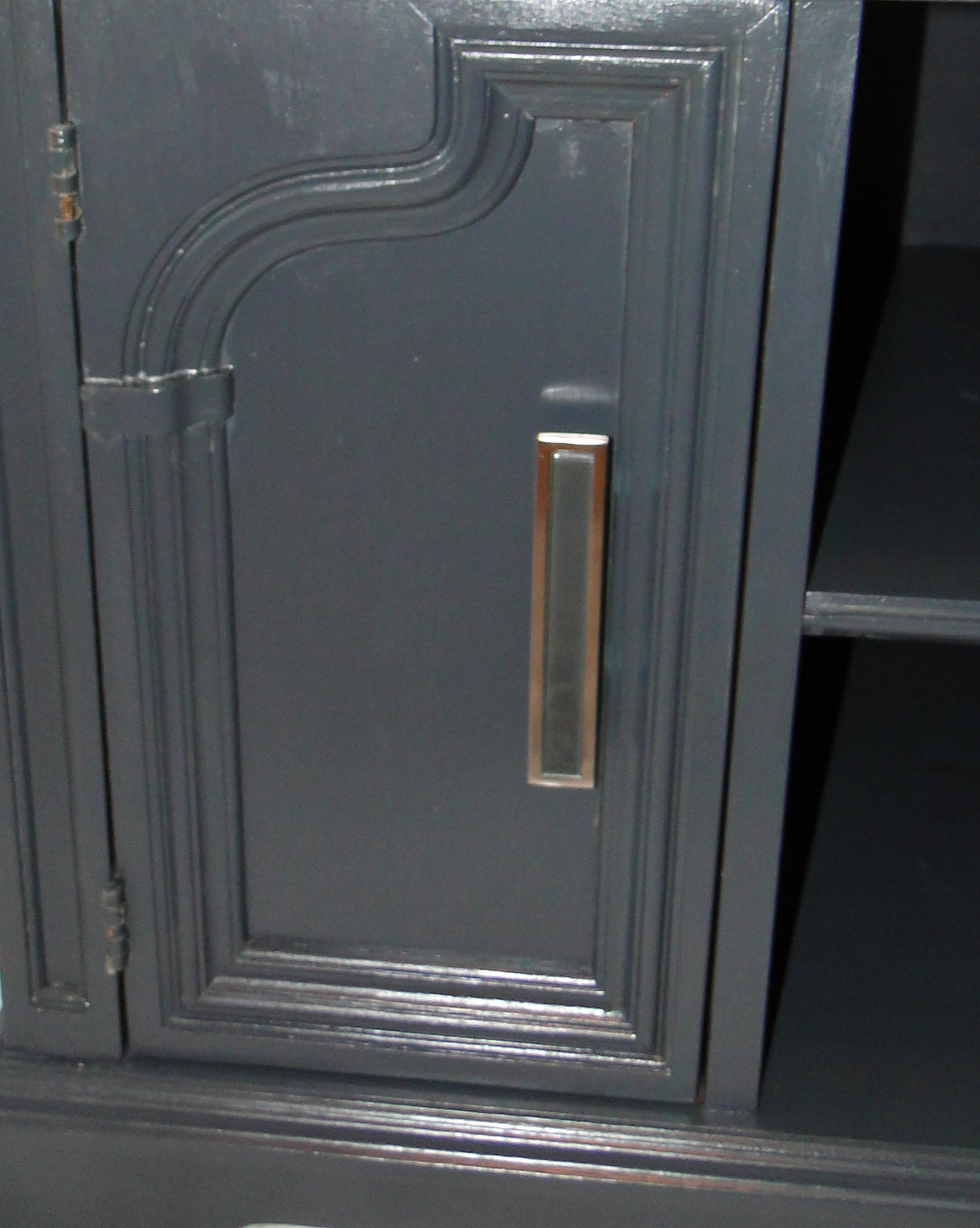 Close up of new handles