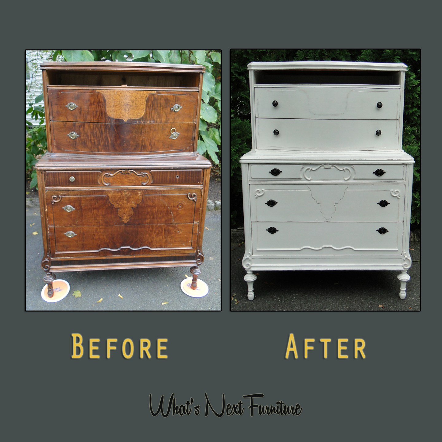 Nicole detailed dresser white before after square grey.jpg