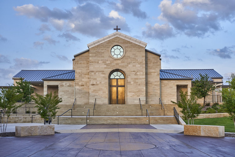 St Francis Frisco >> St Francis Of Assisi Catholic Church Fisher Heck Architects