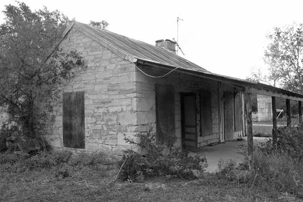 Stone House Before
