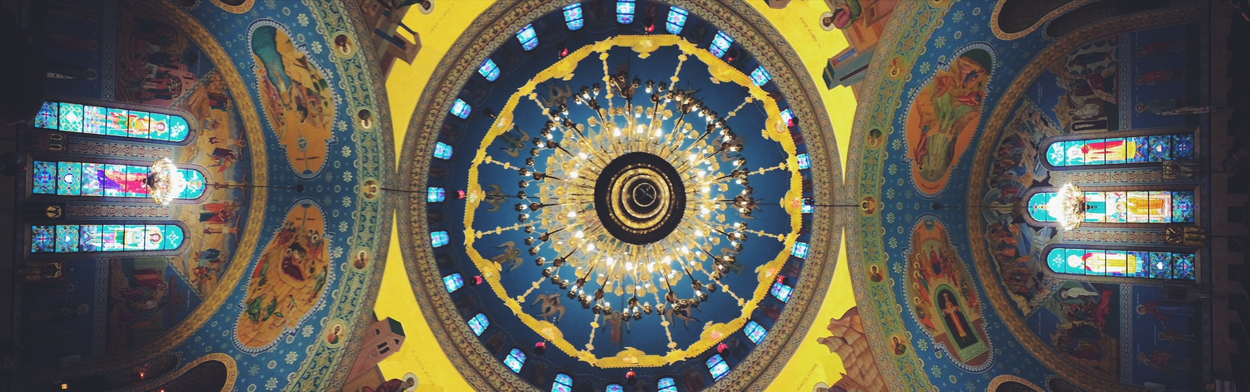 Sts. Volodymyr & Olha Ukrainian Catholic Church's Ceiling