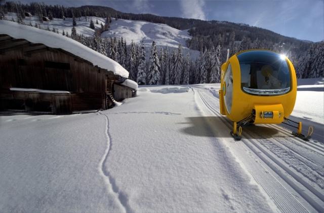 GOPR Rescue Snowobile by Lange & Lange