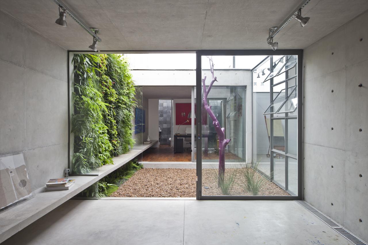 Atelier Aberto Studio in Sao Paulo designed by AR Arquitetos