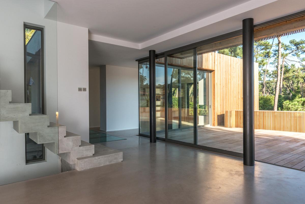 Villa Chiberta Atelier Delphine Carrere Architecture in France