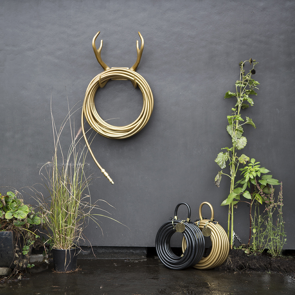 Garden Glory Reindeer Antler Hose Wall Mount at ICFF 2014