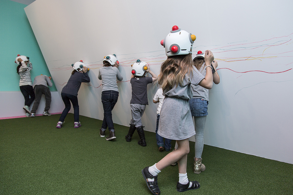 Pastello Draw Act by Mathery Studio at the National Gallery Victoria Art Installation 2014