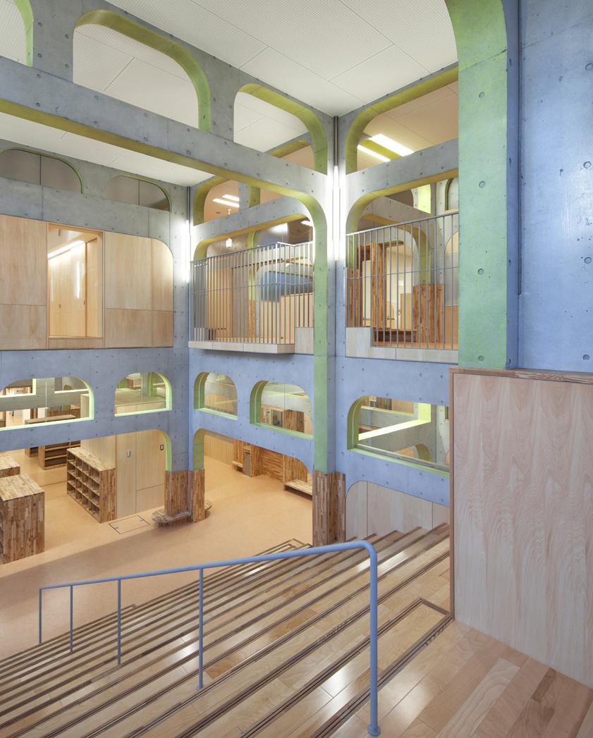 K Kindergarten by NKS Architects in Fukuoka, Japan
