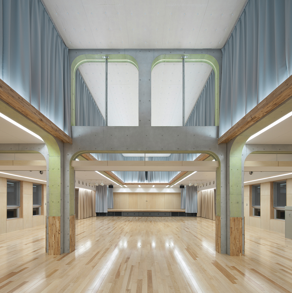 K Kindergarten by NKS Architects in Fukuoka, Japan-