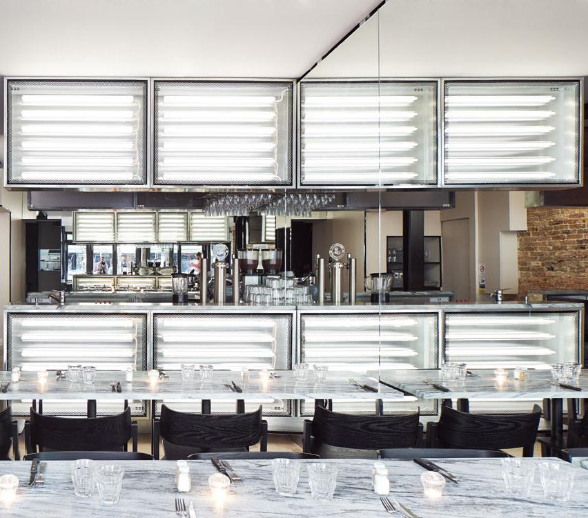 PNY Oberkampf Restaurant Paris Cut Architecture