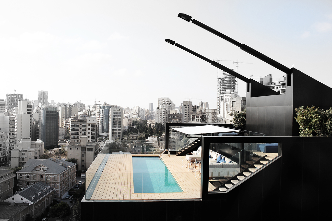 NBK Residence by Bernard Khoury and DW5, Beirut