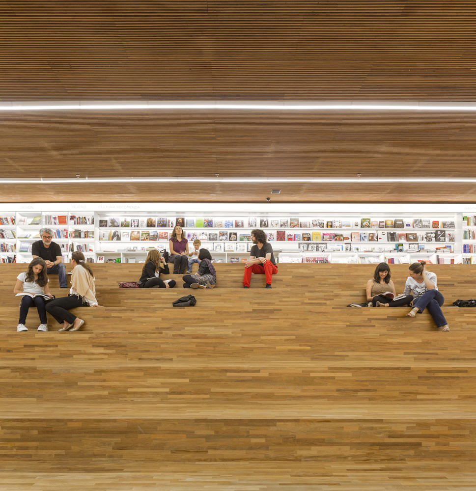 Studio MK27's Bookstore in Sao Paulo, Brazil