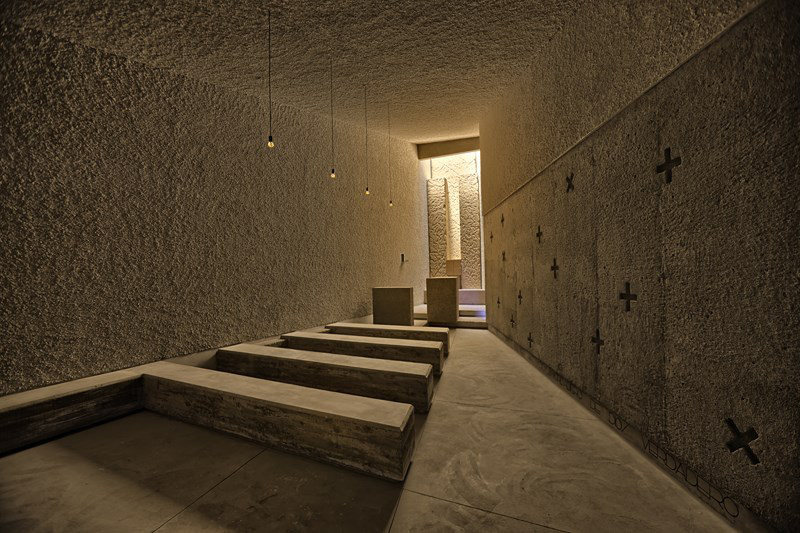 Saint John Baptist Chapel in Islas Canarias, Spain by   Alejandro Beautell  .