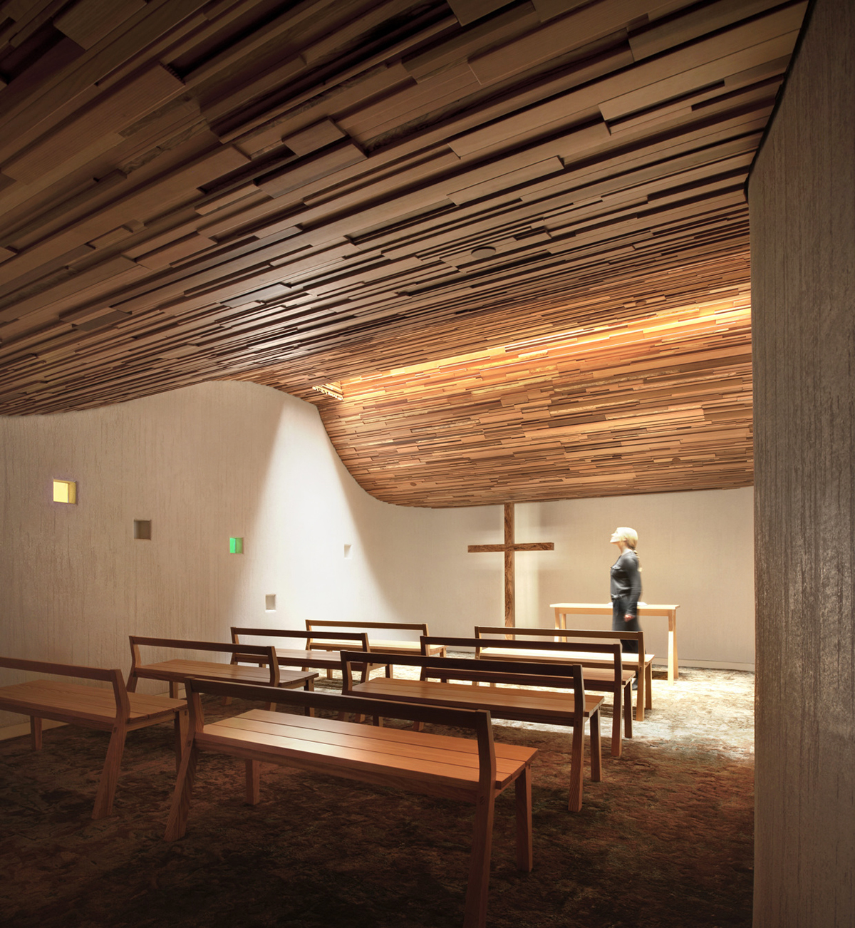 Prayer Chapel in Los Angeles, California, U.S.A by   Gensler  .