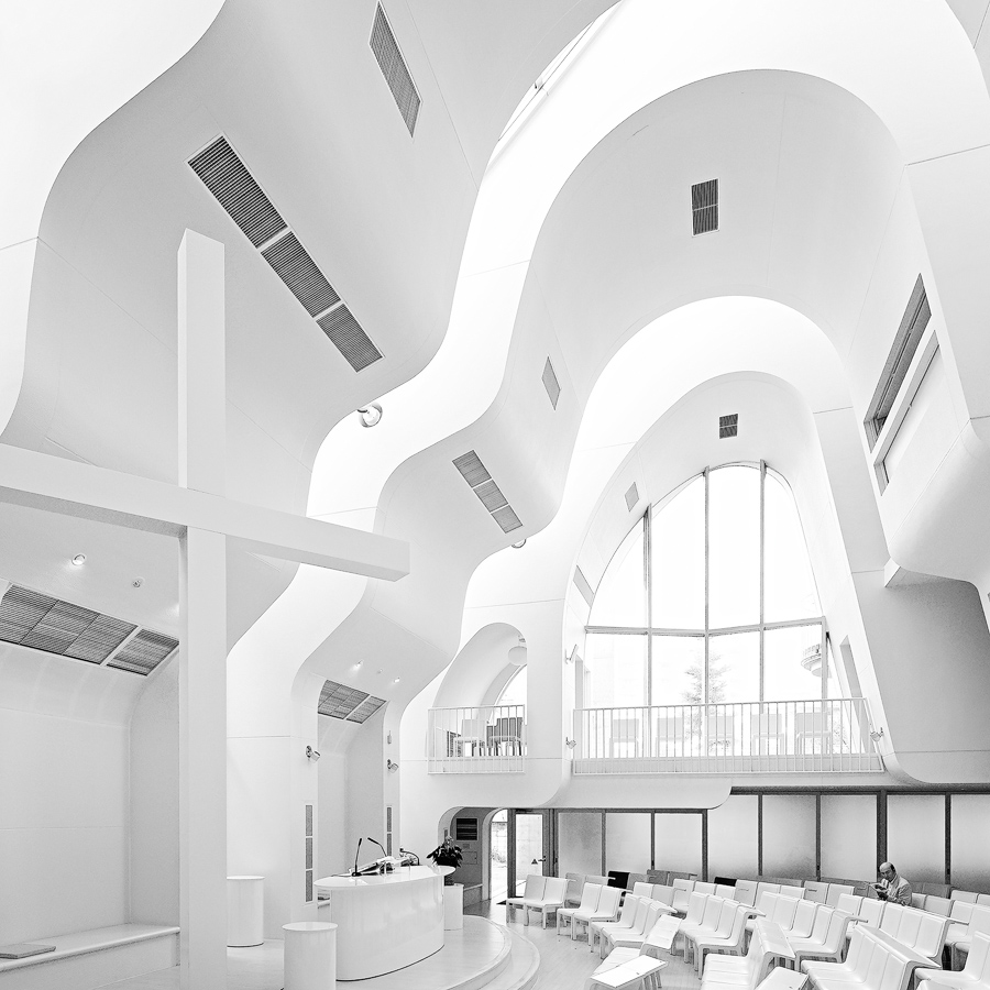 Harajuku Church in Tokyo, Japan by by   Ciel Rouge  .
