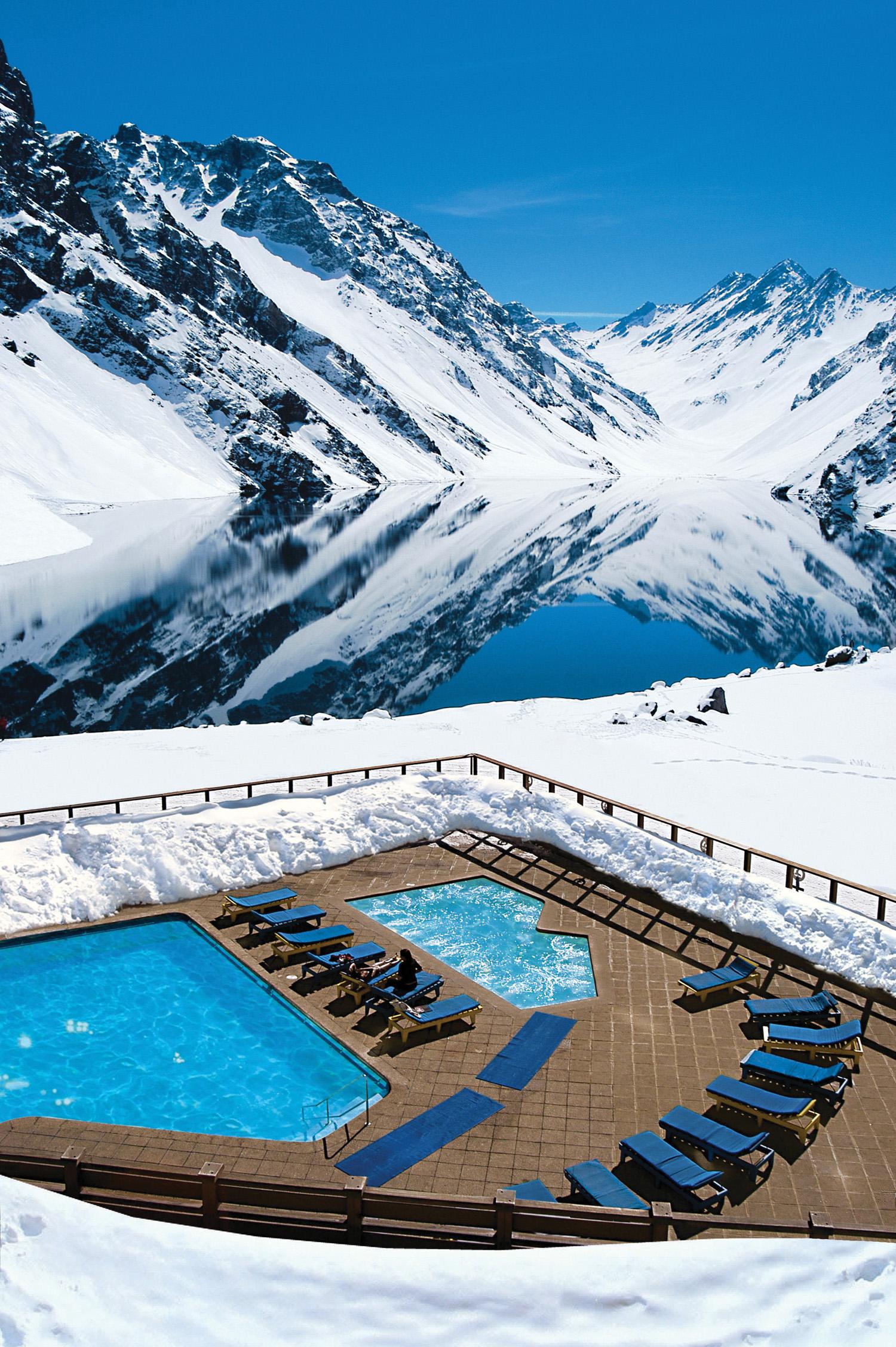 Portillo Ski Resort  in Santiago, Chile