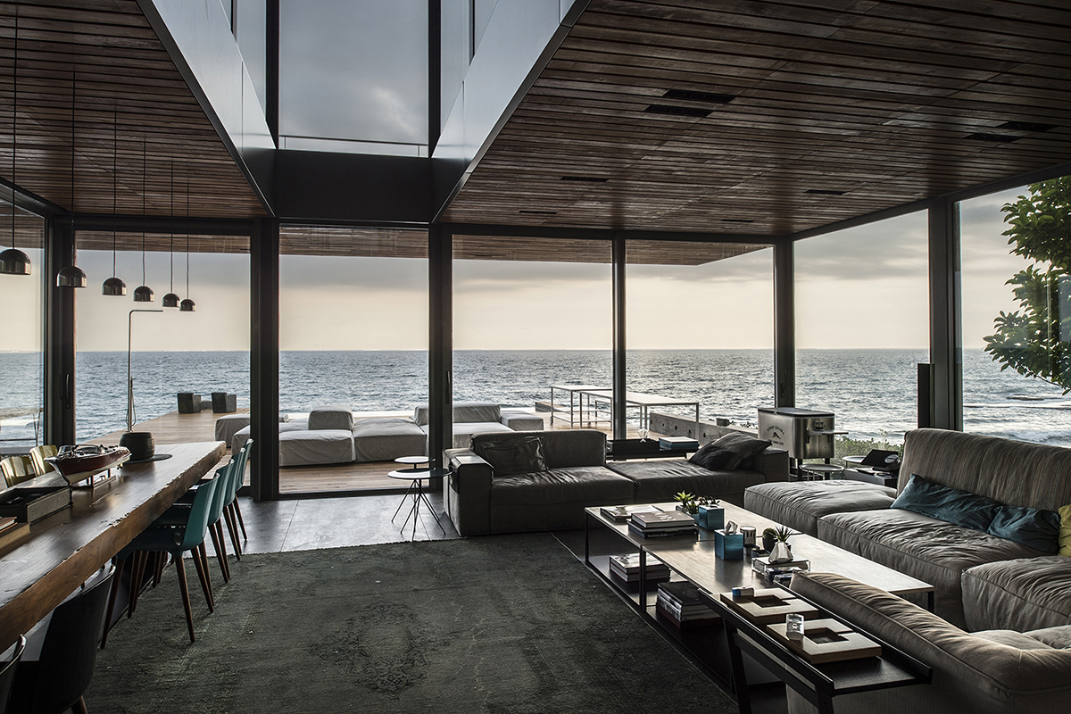 Amchit Residence by BLANKPAGE Architects in Lebanon.