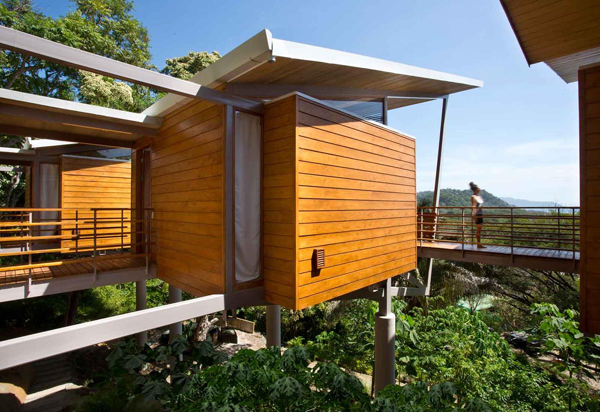 Casa Flotanta in Puntarenas, Costa Rica.
