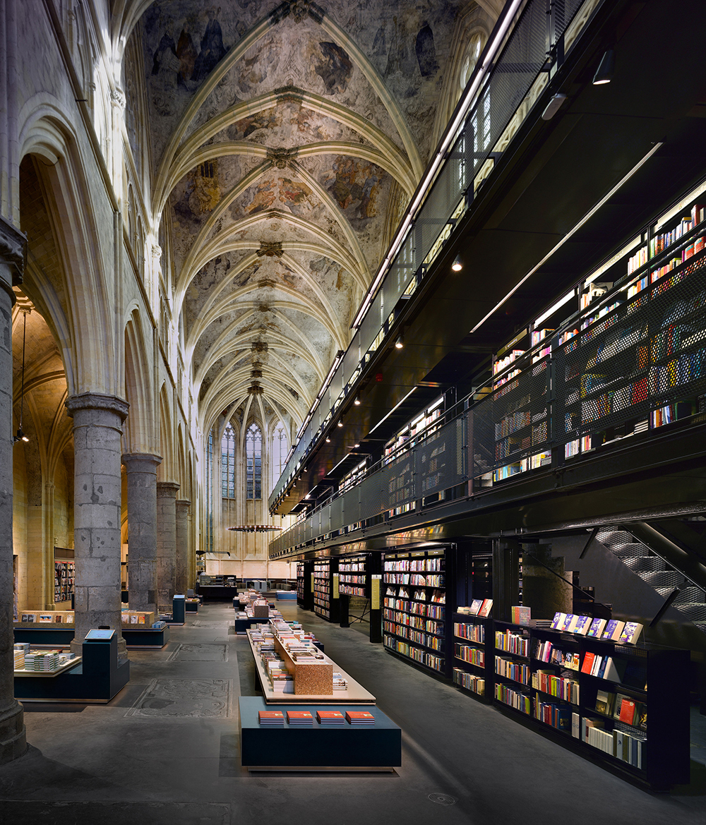 Stockholm Public Library by Olivier Charles
