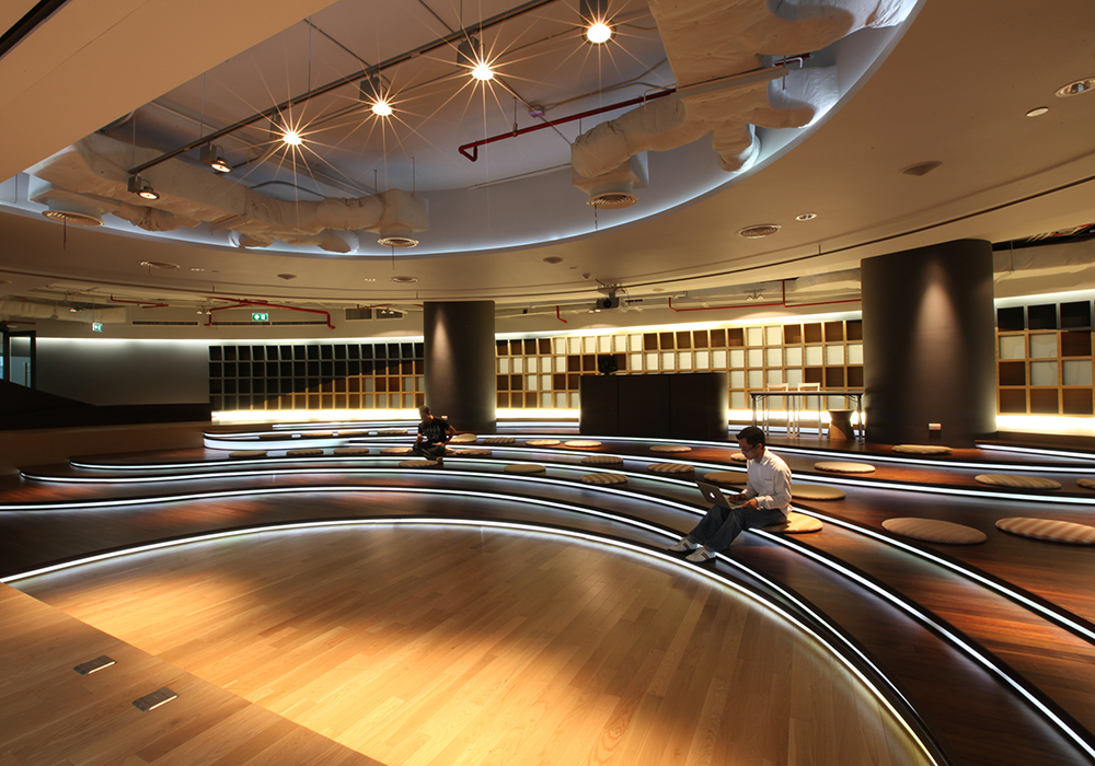 DTAC Headquarters Library by Hassell Architects