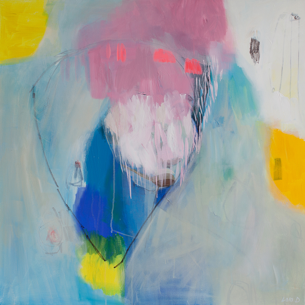 Lola Donoghue's abstract expression paintings
