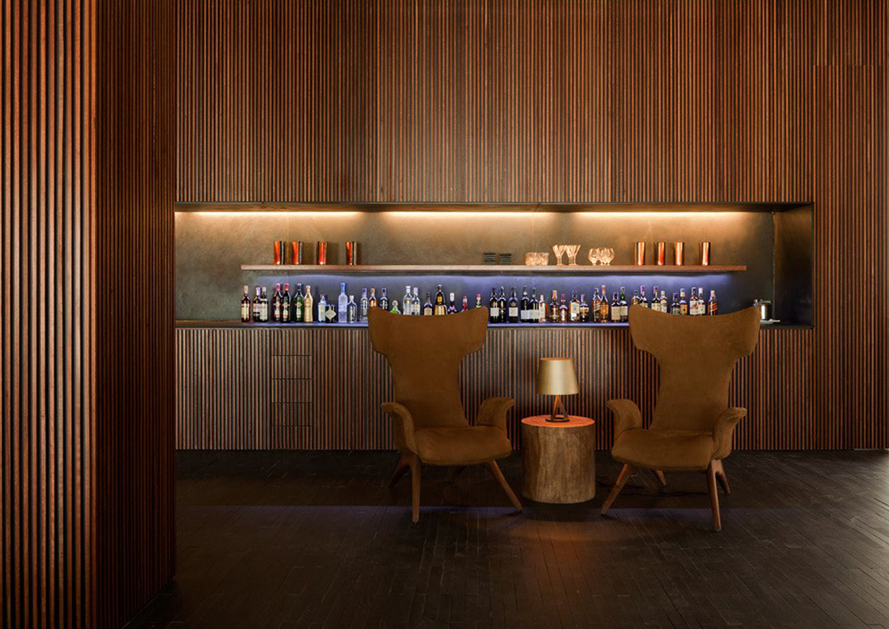 L'And Vineyards Hotel Bar by PROMONTORIO + Studio MK27. Montemor-o-Novo, Portugal
