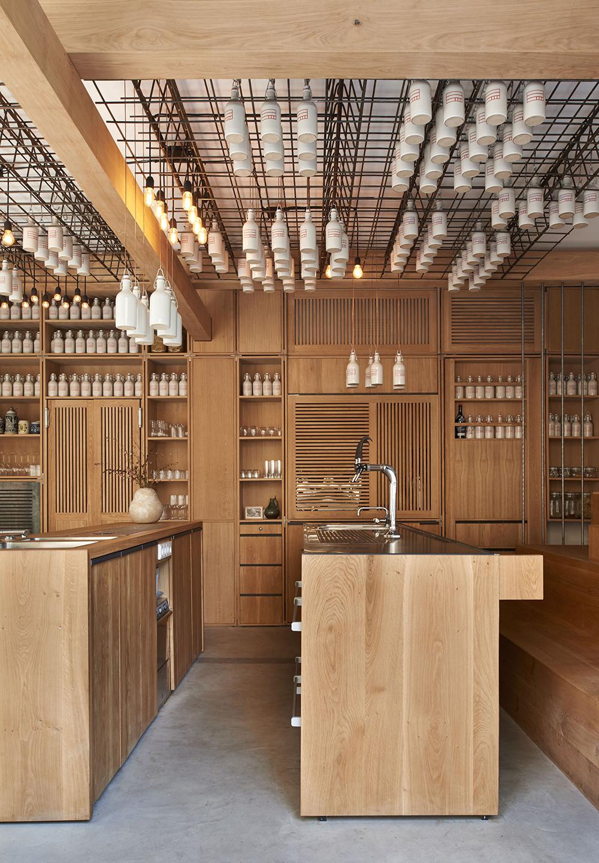 Gamsei Artisian Cocktail Bar by Buero Wagner. Munich, Germany