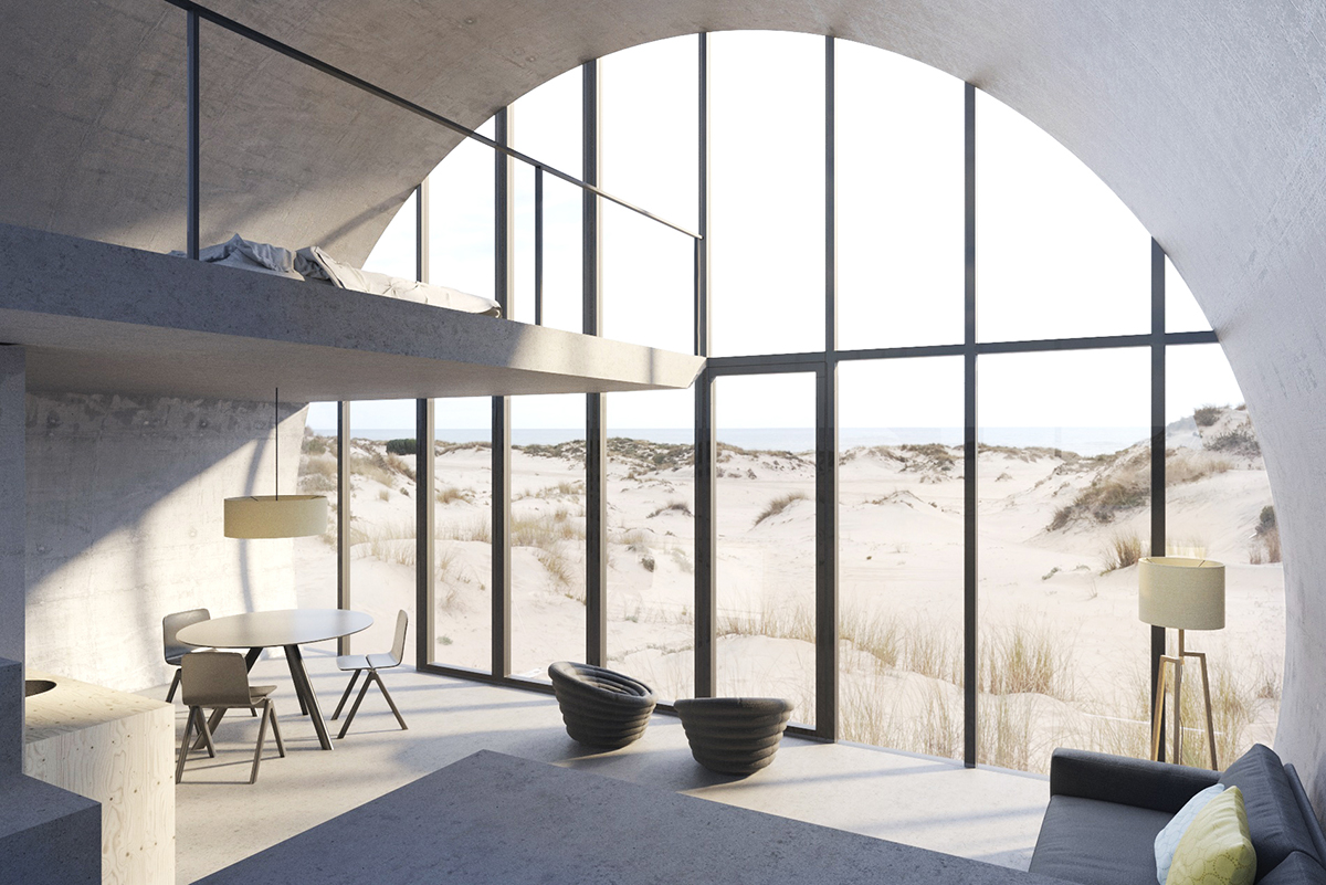 Rolling Homes architecture concept by DO Architects