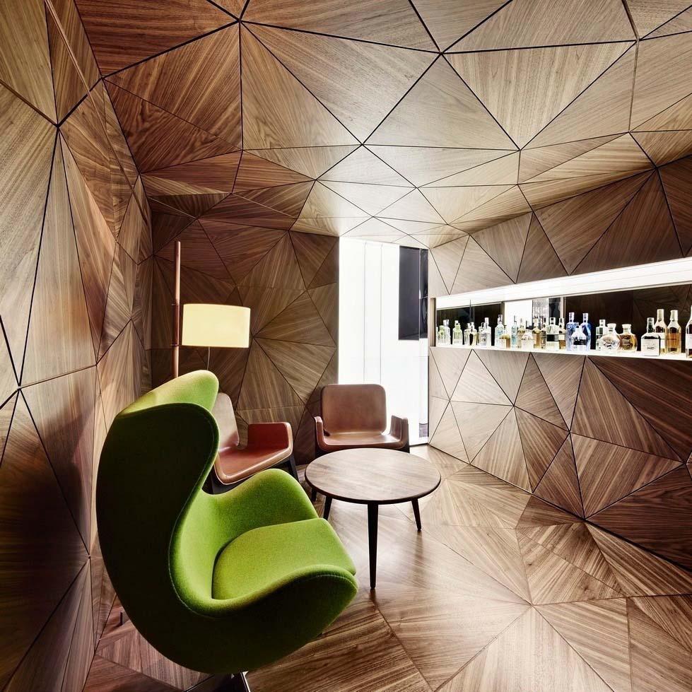 The bar at Relojeria Alemana designed by OHLAB