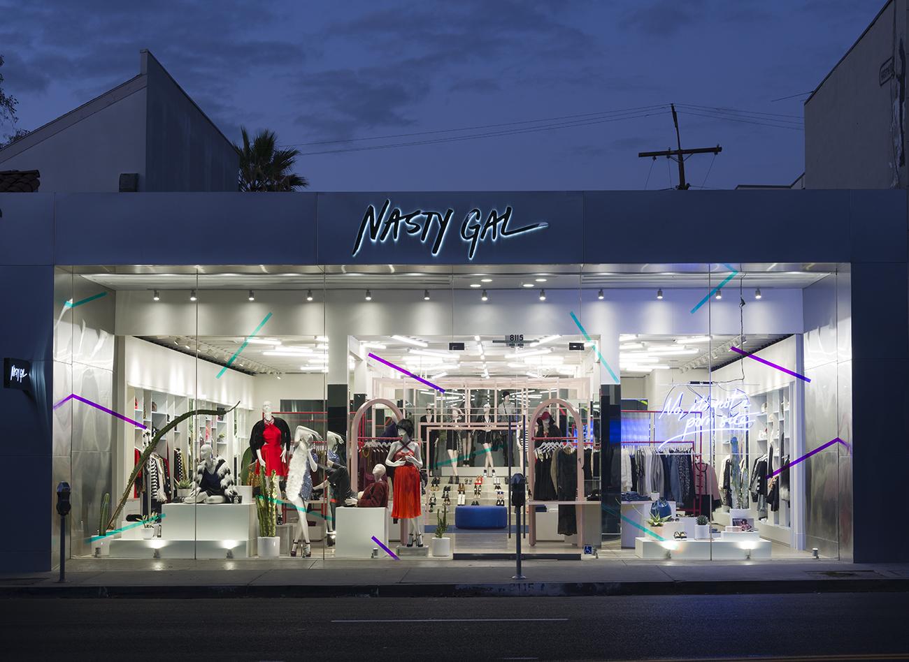 Nasty Gal Store on Melrose in Los Angeles