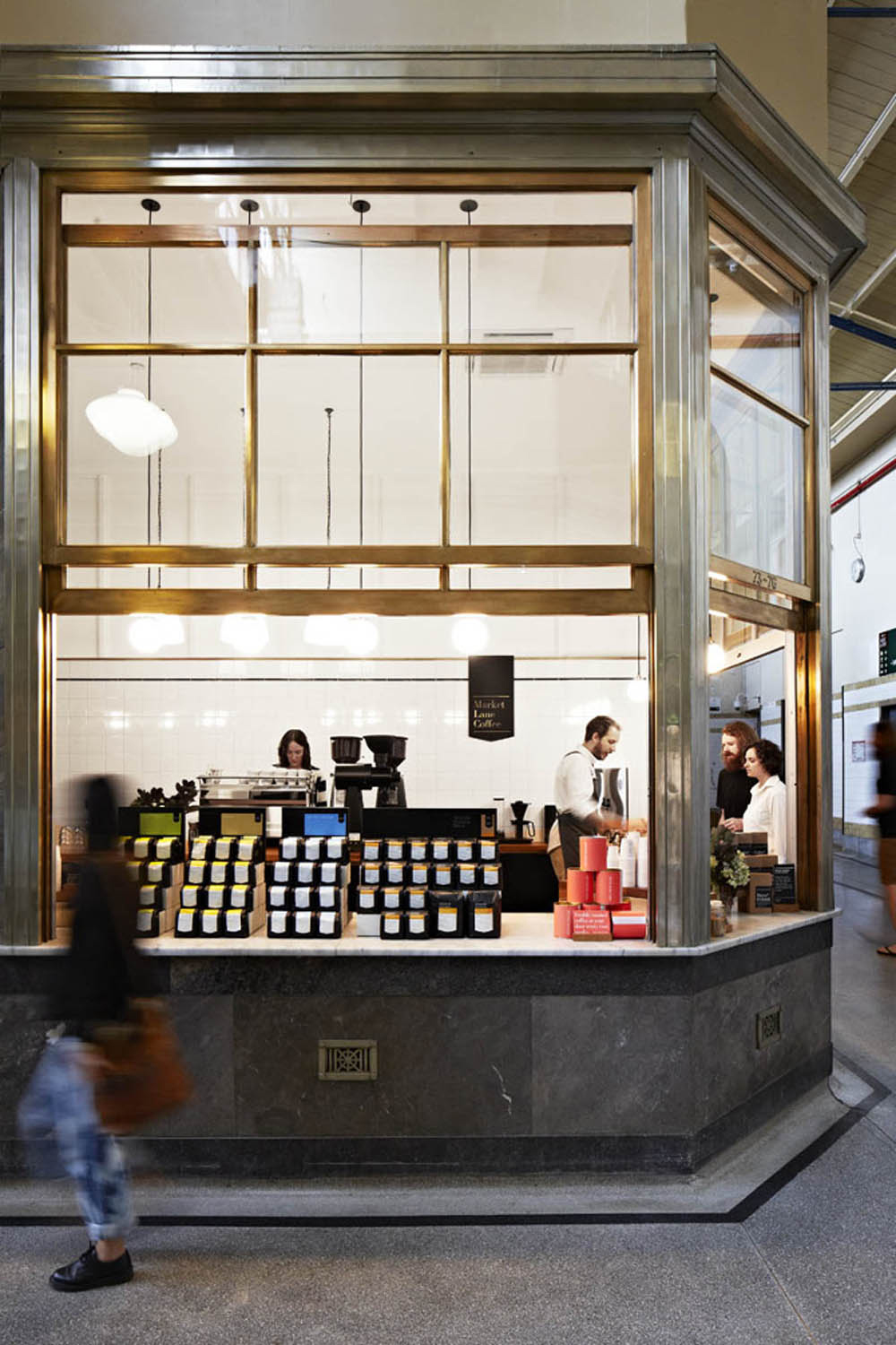 Hearth Designs Market Lane Coffee Shop In Melbourne