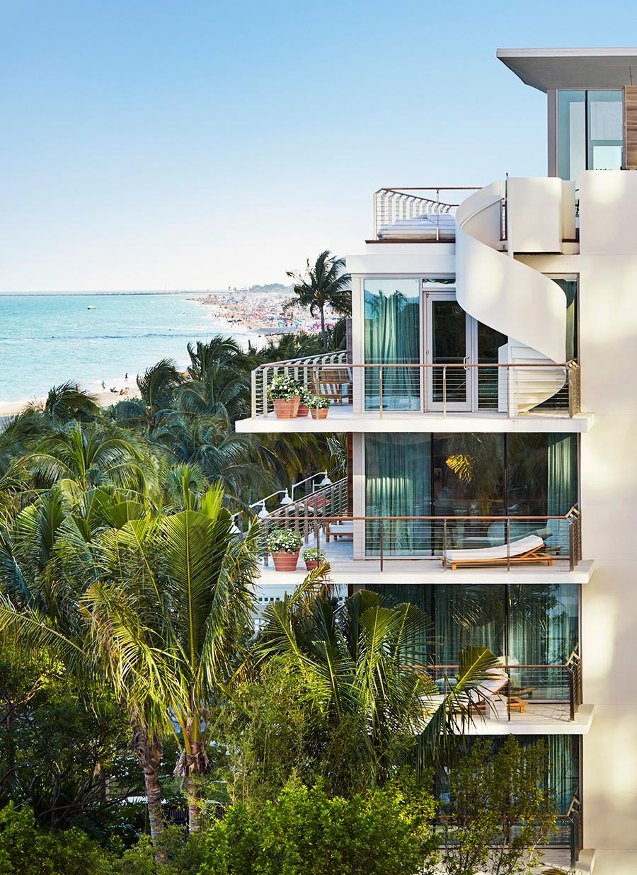 Edition Hotel Miami deisgned by Yabu Pushelberg