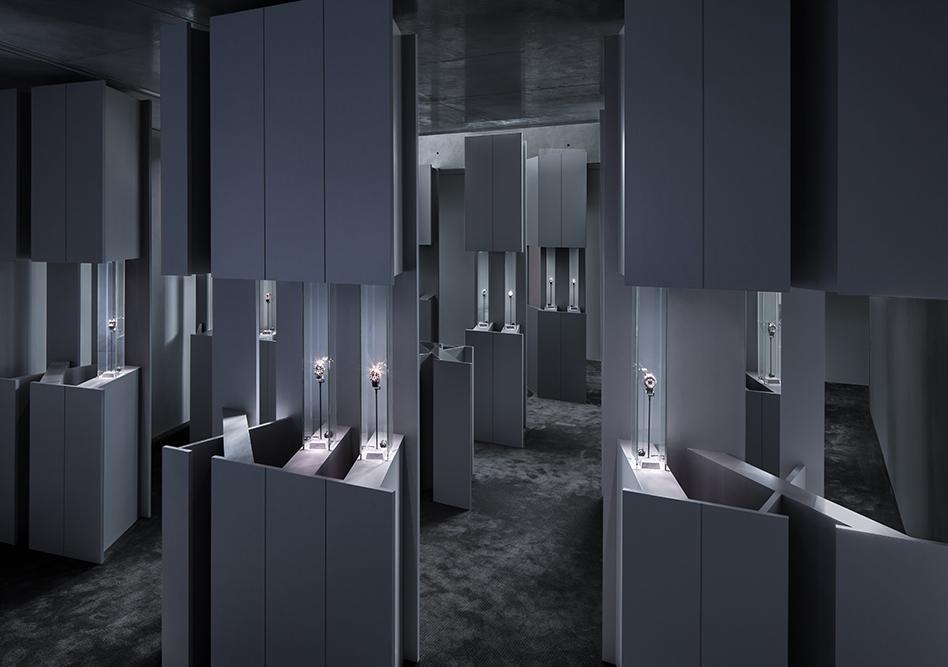 Cartier Shape Your Time Exhibit by Rafael de Cárdenas
