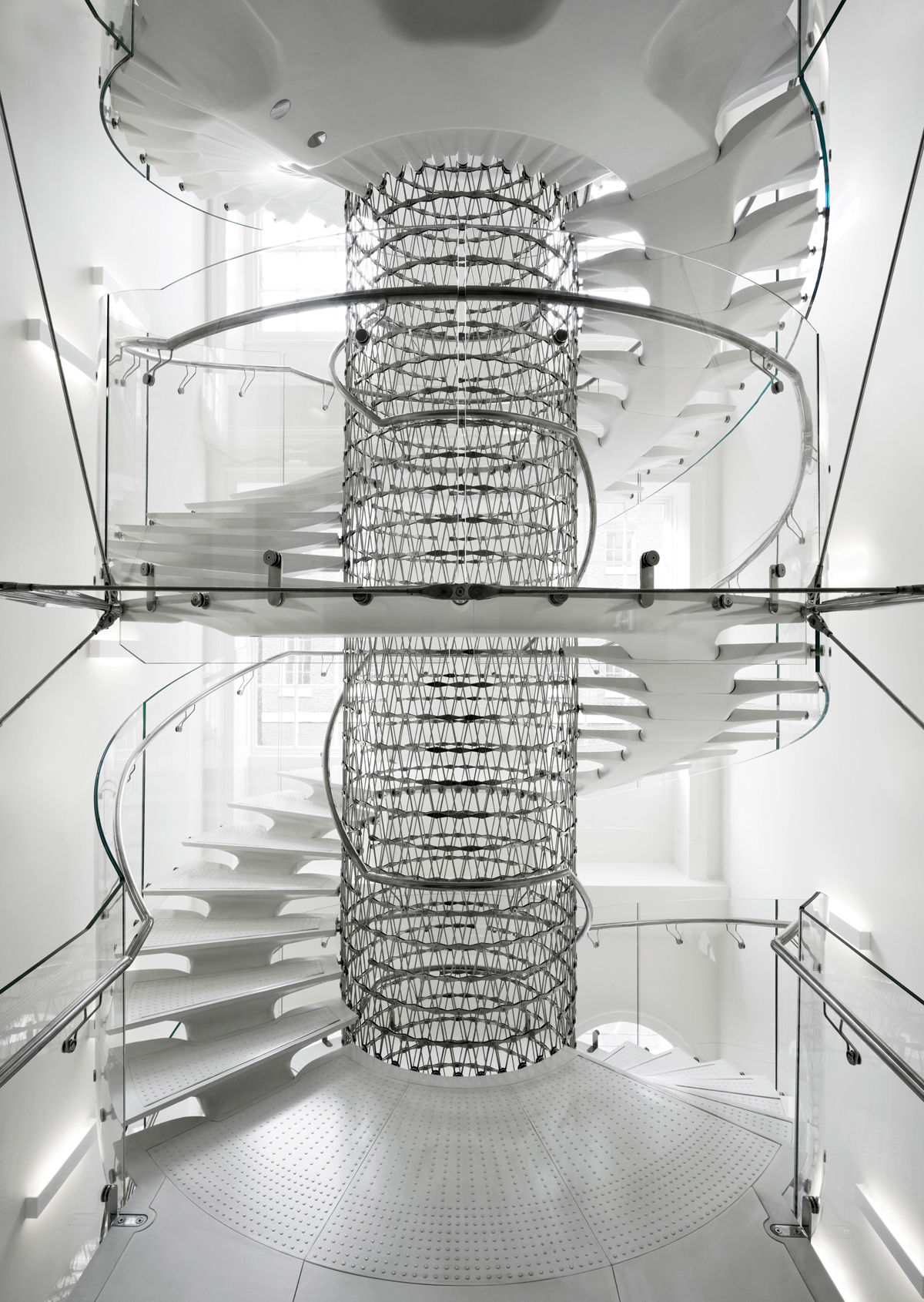Eva Jiricna Architects design the Somerset House West Wing Stairs