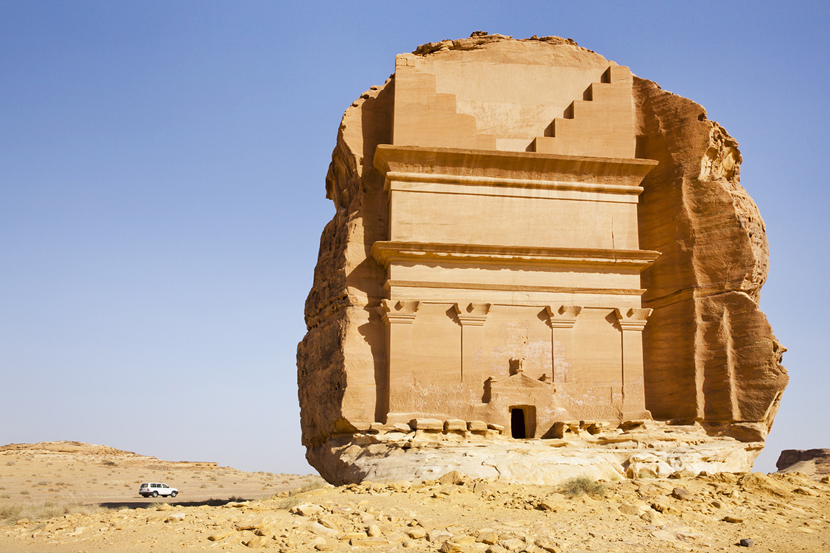 A Desert Odyssey Exploring the Necropolis of Mada in Saleh