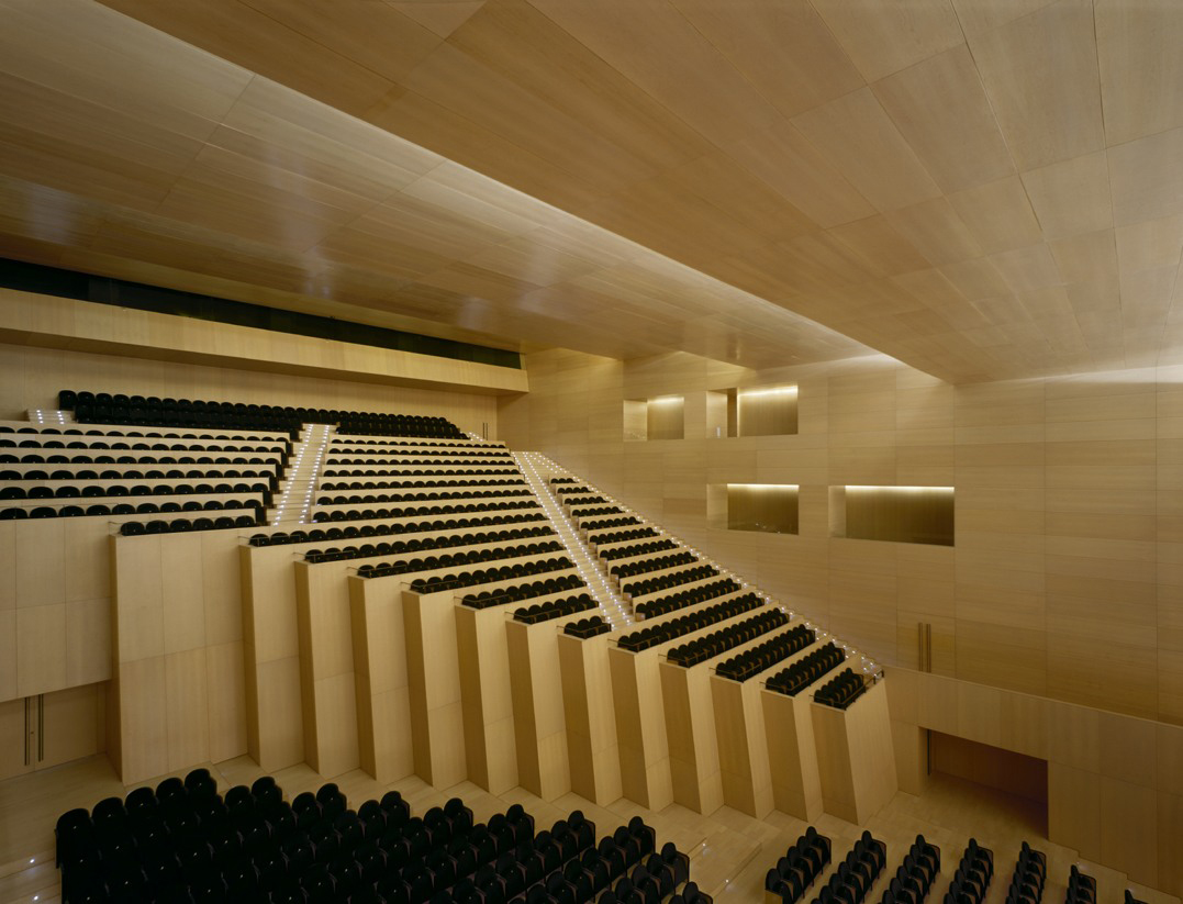 Castellón Auditorium and Convention Center designed by   Sanahuja & Partners .