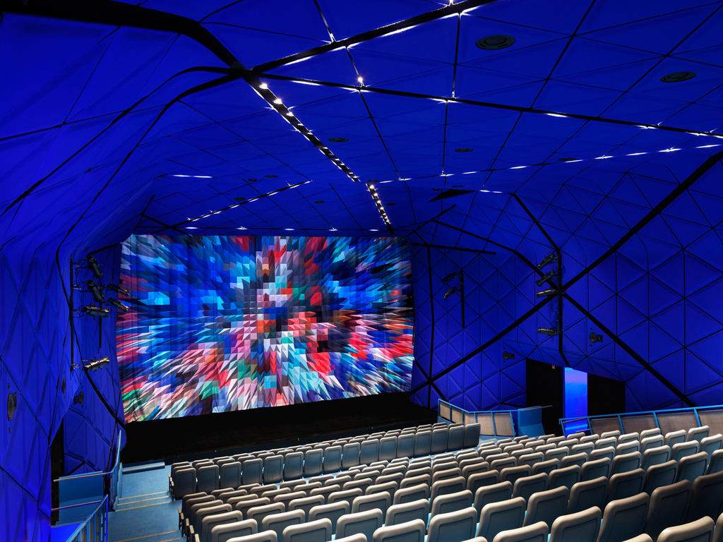 Museum of the Moving Image designed by  Leeser Architecture.