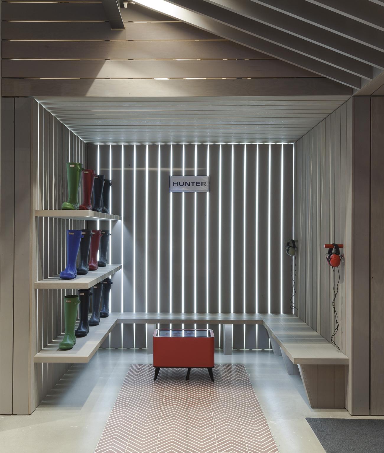 Checkland Kidleysides Design Hunter's First Global Flagship Store