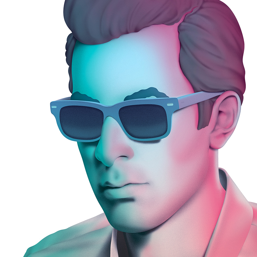 Mark Ronson Record Collection by  Jesse Auersalo