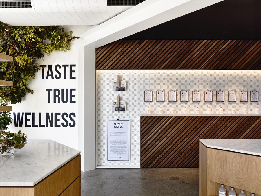 Travis Walton Architects Designs Manhattan-Inspired Organic  Elixir Bar In Melbourne