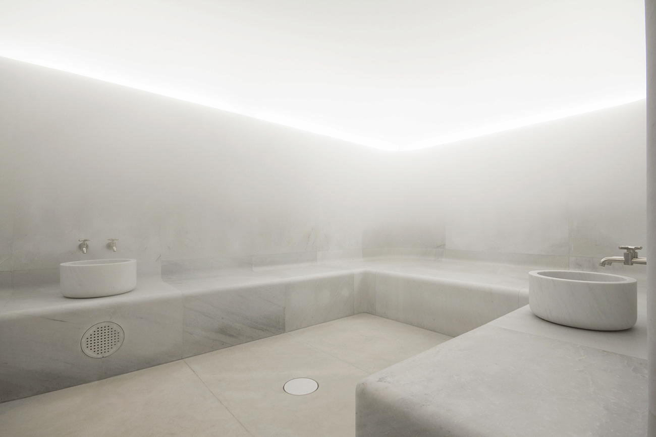 Spa at Hotel Café Royal designed by David Chipperfield
